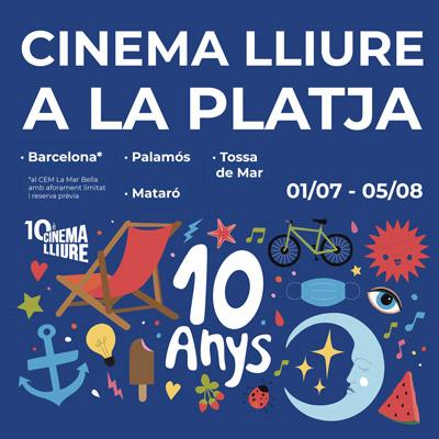 Cinema a la fresca a palamós - cinema a l aplatja palamós
