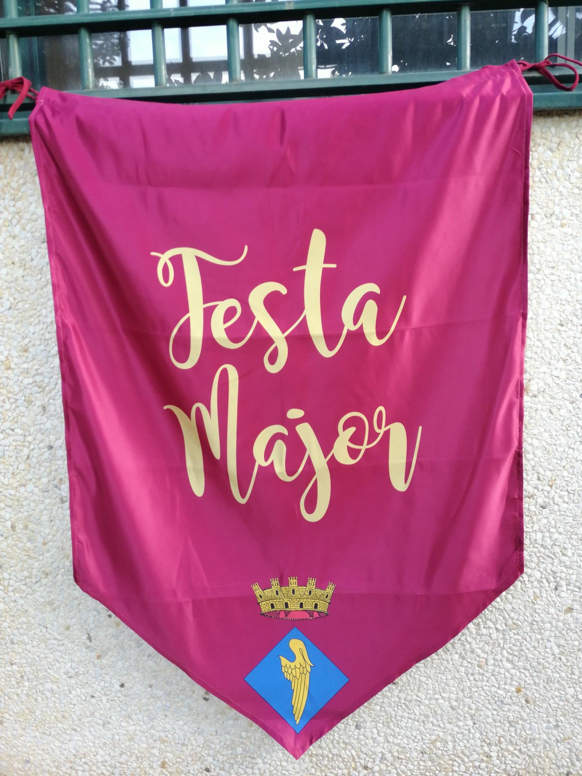 Domassos per festa major - Cavalle textil