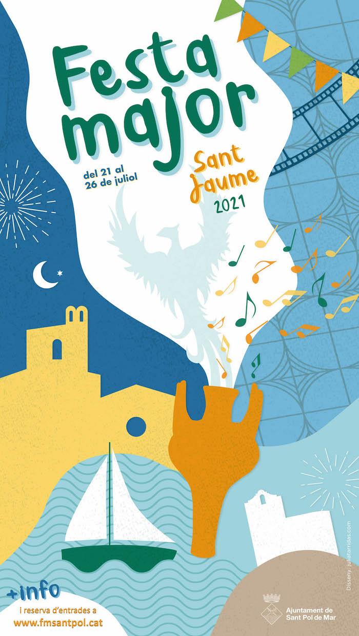 Festa Major - Festa Major de sant Jaume a Sant Pol de Mar - Que fer avui
