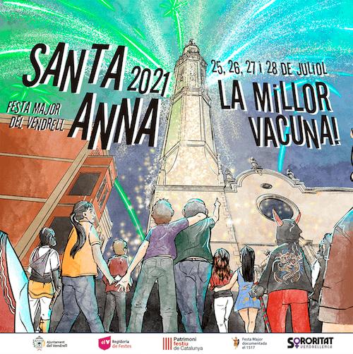 Festa Major del Vendrell 2021 - Santa Anna 2021
