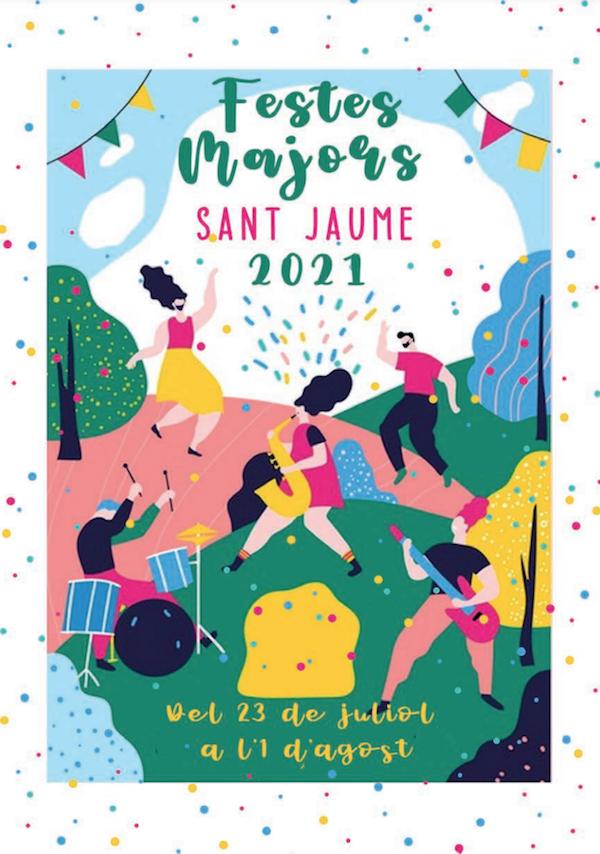 Festes Majors de Sant Jaume d'enveja - festa major 2021