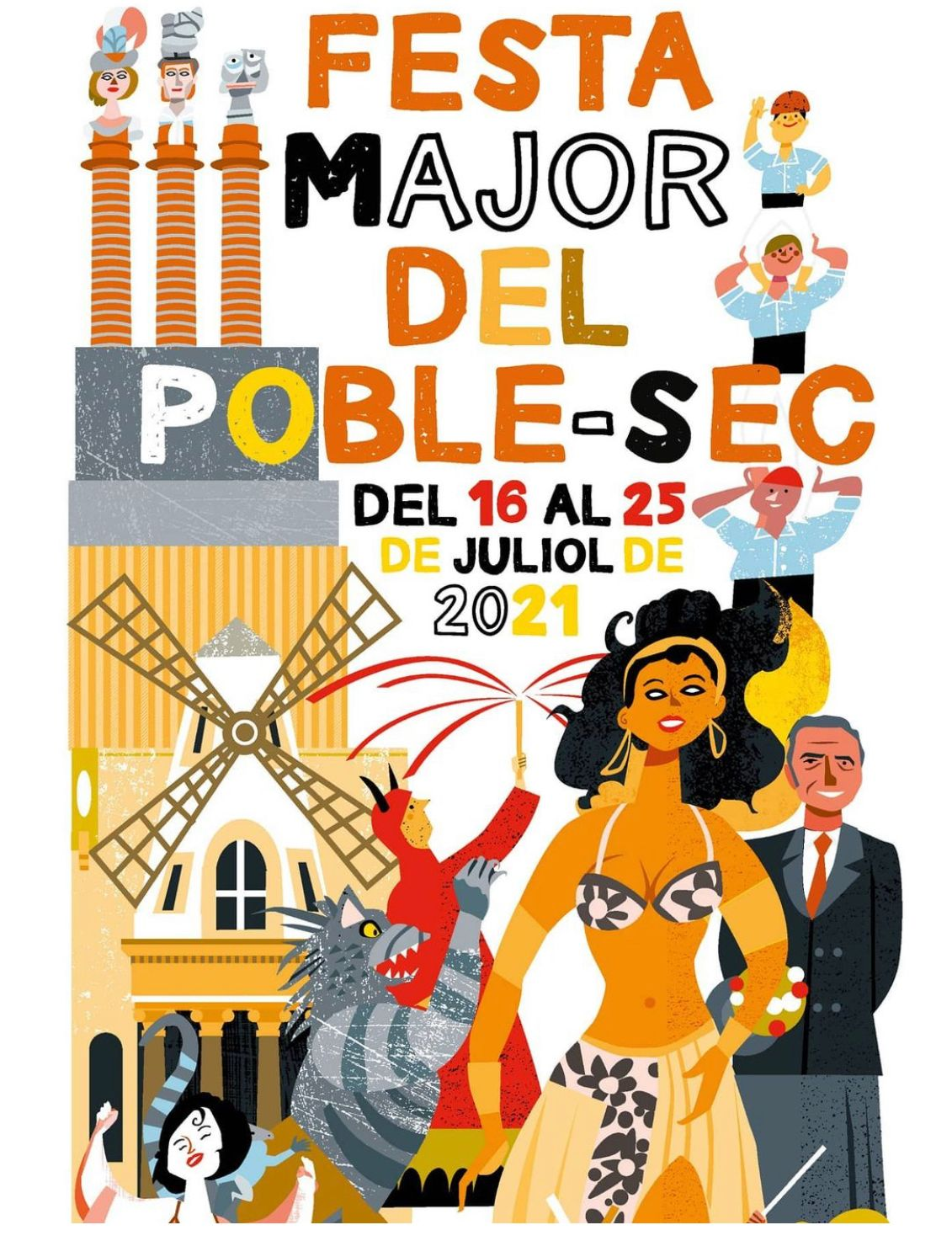 Festa Major del Poble Sec - Festes Majors Barcelona