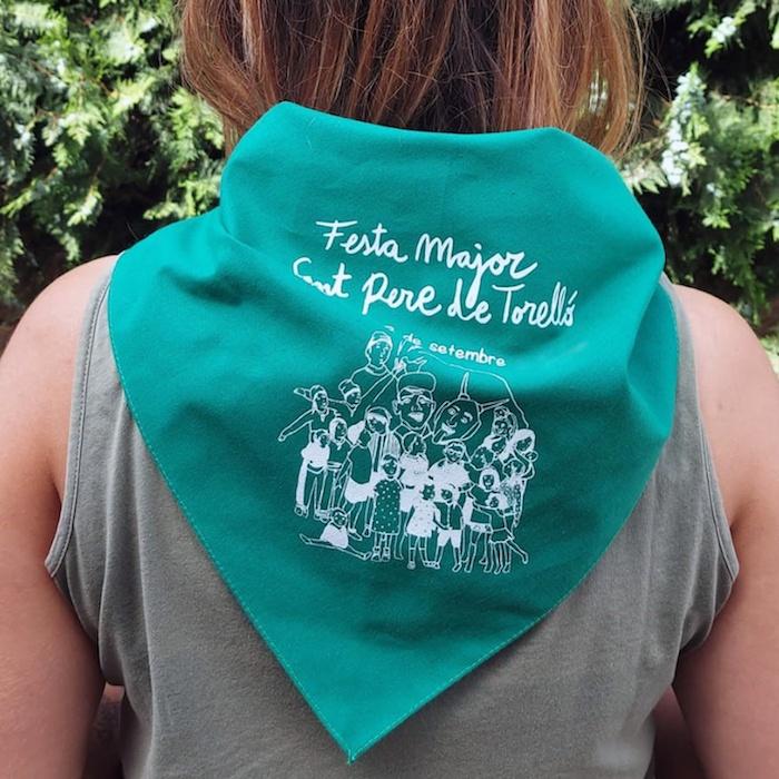 mocadors personalitzats - mocadors per festes