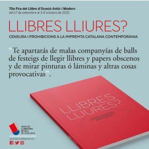 FESTES MAJORS A BARCELONA - FIRA DEL LLIBRE DOCASIO ANTIC I MODERN