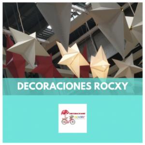 DECORACIONES ROCXY - DECORACIONES