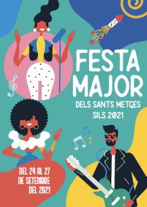 FESTES MAJORS CATALUNYA - FESTA MAJOR DELS SANTS METGES SILS - FIRES I FESTES GIRONA