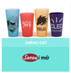 SARAU I MES - GOTS PER FESTES - GOTS REUTILITZABLES