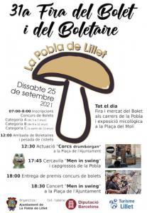 festes majors de catalunya - fira del bolet i del bolataire la pobla de lillet - fires i festes