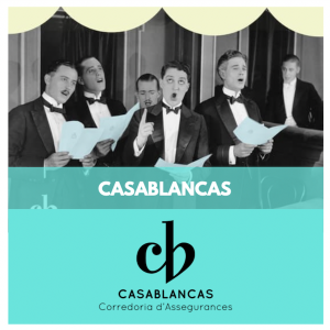 ASSEGURANCES ESDEVENIMENTS - CASABLANCAS CORREDORIA - ASSEGURANCES FESTES MAJORS