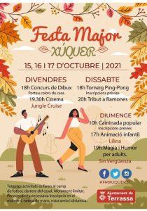 FESTES MAJORS CATALUNYA 2021 - FESTA MAJOR XUQUER TERRASSA - QUE FER AQUEST CAP DE SETMANA BARCELONA