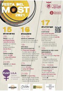 FESTES MAJORS CATALUNYA - FESTA DEL MOST SANT CUGAT DE SESGARRIGUES - FIRES I FESTES CATALUNYA