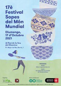 FESTES MAJORS CATALUNYA - FESTIVAL SOPES DEL MON MUNDIAL - QUE FER AVUI A BARCELONA