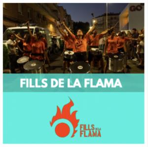 FILLS DE LA FLAMA - GRUPS DE PERCUSSIO - PERCUSSIO FIRES I FESTES