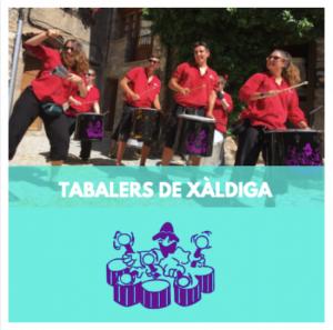 TABALERS DE XALDIGA - GRUPS DE PERCUSSIO